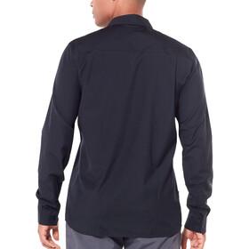 Icebreaker Departure II - Camiseta de manga larga Hombre - negro